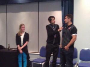 Hannah, Graeme & Stuart